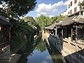 Wuyuejiehe River from Tongjiqiao Bridge in Fengjing Town.jpg