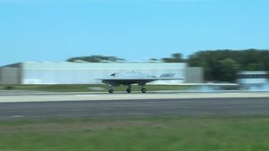 File:X-47B Lands at Naval Air Station Patuxent River.webm