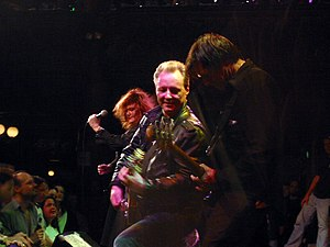 Billy Zoom - Billy Zoom (center) performing with the band X in 2004