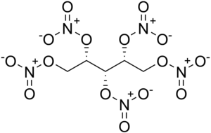Xylitol pentanitrate - Image: Xylitol pentanitrate