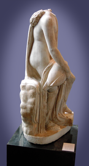 Timotheus (sculptor) - Leda and the Swan (Yale University Art Gallery)