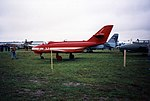 Yakovlev Yak-32 Yakovlev Yak-32 Khodinka Air Force Museum Sep93 1 (17125070316).jpg