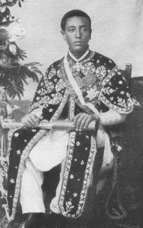 Lij Iyasu of Ethiopia Uncrowned Emperor of Ethiopia