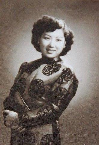 Wu Yingyin - Wu in 1940