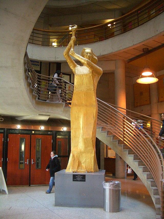 From commons.wikimedia.org: York University Goddess of Democracy {MID-154330}