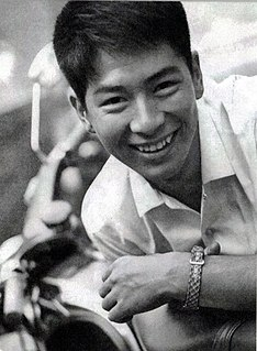 Yosuke Natsuki Japanese actor