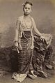 Young Burmese Girl, photograph by Philip Adolphe Klier.jpg