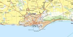 karta över ystad kommun