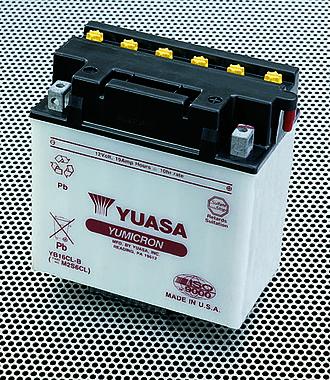 GS Yuasa - Image: Yuasa Wave Runner Battery