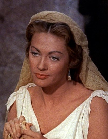 Yvonne De Carlo in The Ten Commandments film trailer