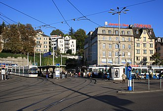 Central, Zürich - The Central as seen from Bahnhofbrücke