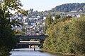 Zürich - James-Joyce-Plateau - Limmat - Waidberg IMG 1204.jpg