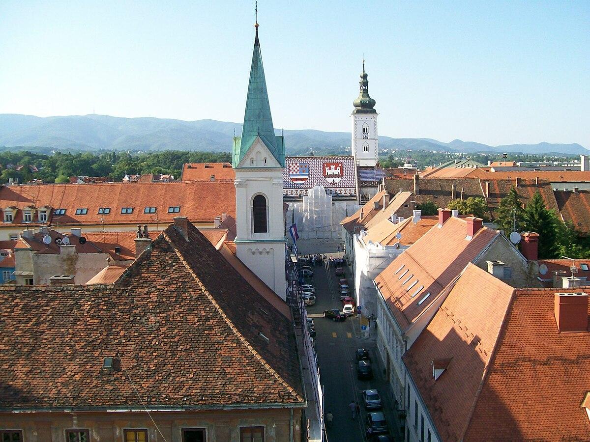 File Zagreb Gornji Grad Markova Crkva Jpg Wikimedia Commons