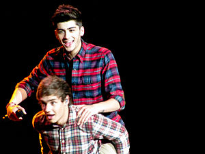 Up All Night Tour - Zayn Malik and Liam Payne on stage in Toronto
