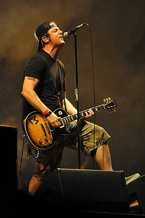 No Use for a Name - Tony Sly, lead singer and chief songwriter from 1989 until his death in 2012