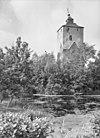 zicht op de toren met water op de voorgrond - vleuten - 20134688 - rce