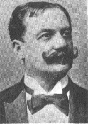 Bow tie - Karl Michael Ziehrer wearing a 19th-century style bow tie