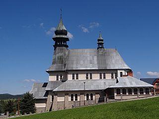 Zubrzyca Dolna Village in Lesser Poland Voivodeship, Poland