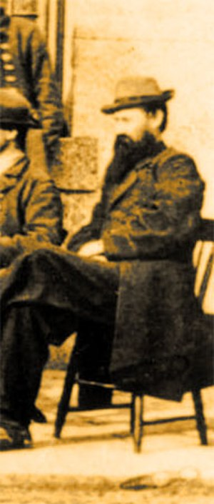 William A. Webb - William A. Webb as a captive in Fort Warren