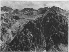 """From Windy Point, Kings River Canyon (Proposed as a national park),"" California, 1936., ca. 1936 - NARA - 519936.tif"