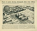 """""""Proof of matrix showing photograph taken from balloon."""" distributed by the St. Louis Centennial Association. (Aerial view of City Hall from 300 feet).jpg"""