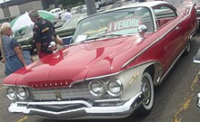 '60 Plymouth Fury Coupe (Rassemblement Mopar Valleyfield '10).jpg