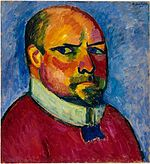 'Self-Portrait' by Alexej von Jawlensky, 1911.jpg