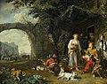 'Sportsman Offered Refreshment outside an Inn' by Abraham Danielsz. Hondius.jpg