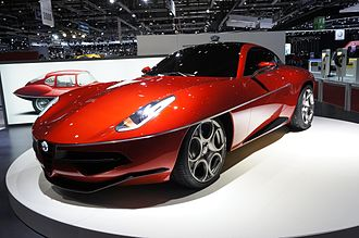 Carrozzeria Touring Superleggera - Alfa Romeo Disco Volante at 2012 Geneva Motorshow
