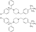 (±)-Buclizine Enantiomers Structural Formulae.png