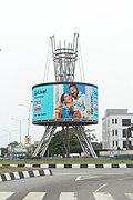 (Photo-walk Nigeria), Close view of CMS Round-about.jpg