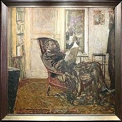 Portrait of Thaddeus Natanson in chair