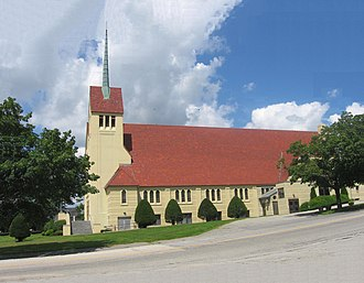 Androscoggin County, Maine - Image: Église Sainte Croix
