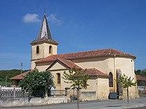 Église de Fontrailles (Hautes-Pyrénées, France).JPG