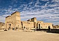 Égypte, Île Agilka, Complexe de Philae, Temple d'Isis, Vue du temple entier, du côté est (49758234222).jpg
