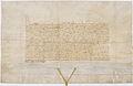 Émancipation par Charles IV, empereur germanique, du dauphin de France Charles 1 - Archives Nationales - AE-III-104.jpg