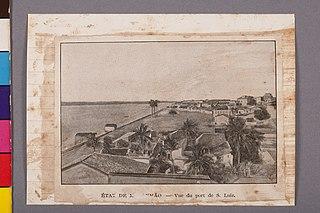 État de Maranhão - Vue du Port de S. Luiz