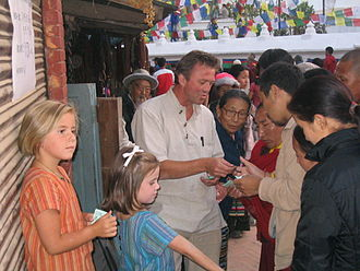 Øystein Alme - Øystein Alme in Kathmandu