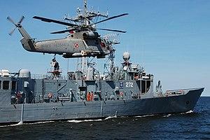Ćwiczenia 3 Flotylli Okrętów 02