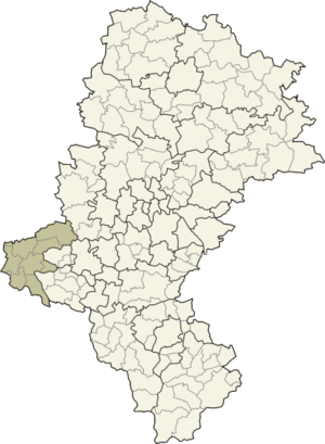 Racibórz County - Image: Śląskie raciborski