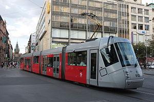 Škoda Elektra - Image: Škoda 14T in Prague 2008 08 06