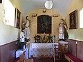 Žabeň, kaple sv. Fabiána a Šebestiána, interiér.jpg