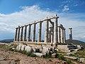 Ναός Ποσειδώνα, Σούνιο, άνοιξη, απόγευμα.jpg