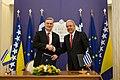 Συνάντηση ΥΠΕΞ Δ. Αβραμόπουλου με ΥΠΕΞ Βοσνίας και Ερζεγοβίνης Z. Lagumdzija (8679296638).jpg