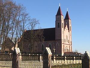 Baranivka (city) - Saint Stanislaus Church in Baranivka