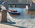 Красногвардейский пешеходный мост, канал Грибоедова, Крюков канал. 2004-04-02.jpg