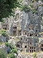 Ликийский некрополь VI-IV век до н.э. Мира. Турция. Июнь 2011 - panoramio.jpg