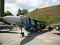 МіГ-23, Площадка військової техніки.JPG