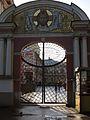 Ограда с воротами, наб. реки Монастырки д.1А, Александро-Невская лавра, Санкт-Петербург.jpg