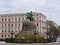 Пам'ятник гетьману Богдану Хмельницькому Київ Софійська площа.JPG